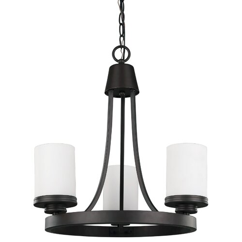 Canarm Jackson 3 Light Chandelier