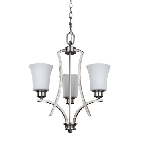 Canarm Royal Flamenco 3 Light Chandelier