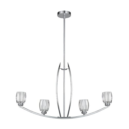 Canarm Andie 4 Light Chandelier