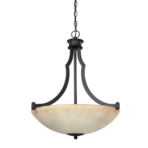 Warren 3 Light Bowl Chandelier