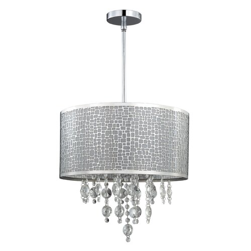 Canarm Benito 4 Light Chandelier