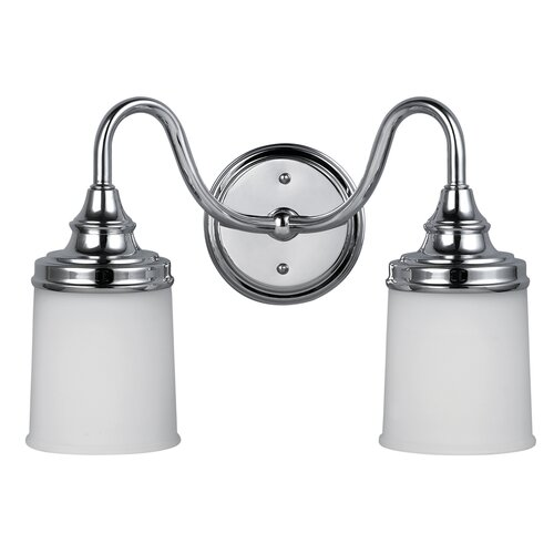Canarm Barkley 2 Light Bath Vanity Light