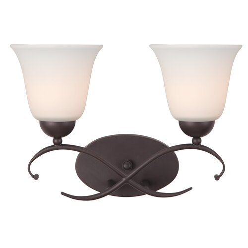 Canarm Lily 2 Light Bath Vanity Light