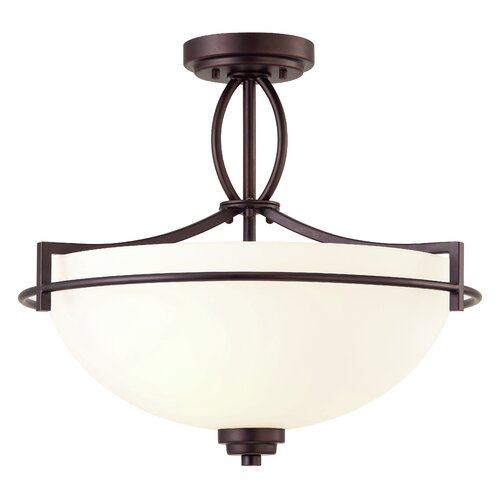 Canarm Miller 3 Light Semi-flush Mount