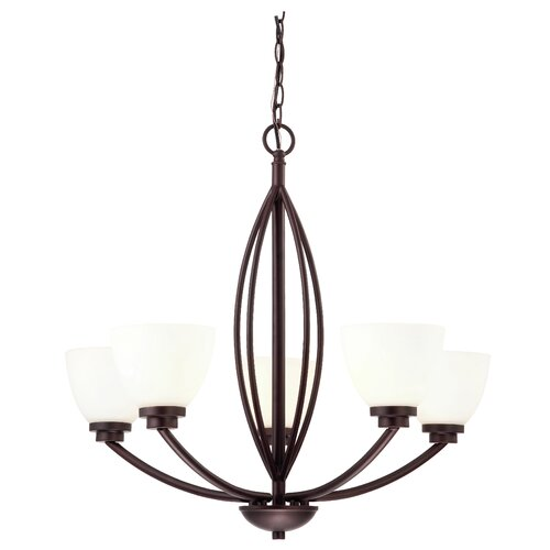 Miller 5 Light Chandelier