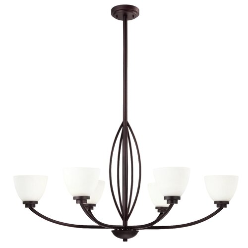 Miller 6 Light Chandelier