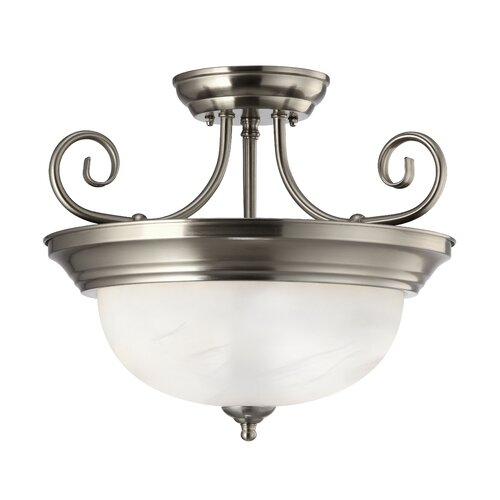 Canarm Julianna 2 Light Semi-flush Mount