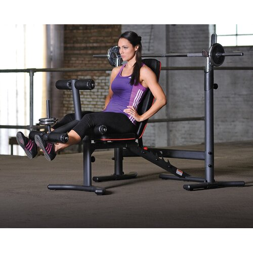 2-Piece Adjustable Olympic Bench