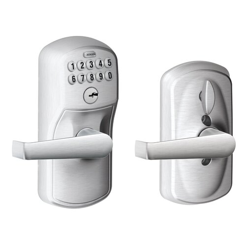 Schlage Plymouth by Elan Keypad Lever with Flex Lock
