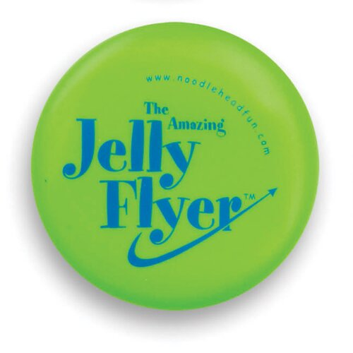 Noodle Head Jelly Flyer Glow in the Dark Frisbee Game