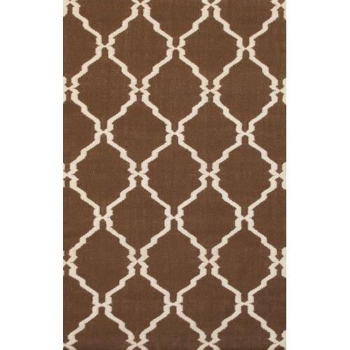 MevaRugs Flat Weave Brown Rug