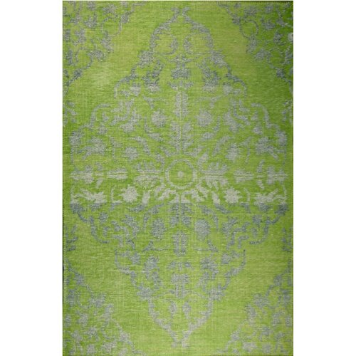 MevaRugs Medallion Green Rug