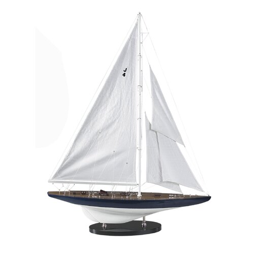 Authentic Models 1934 Rainbow J-Model Yacht