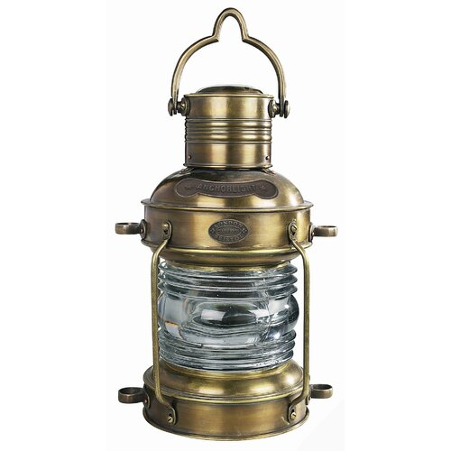 Authentic Models Large Anchor Light in Bronze