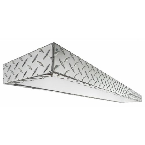 Lithonia Lighting Diamond Plate 2 Light Decorative Linear
