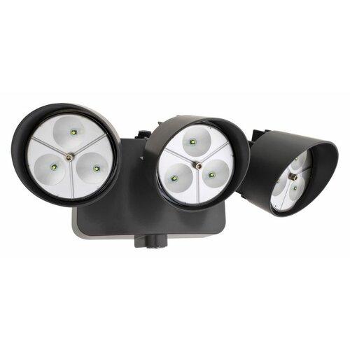 Lithonia Lighting Dusk to Dawn 3 Head LED Floodlight