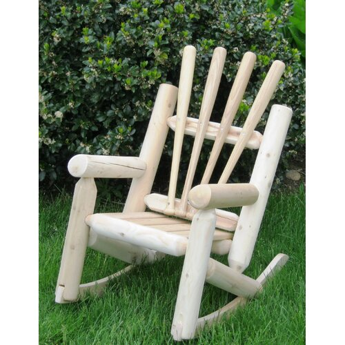 Ski Chair Children's Base Ball Adirondack Log Chair