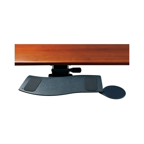 Humanscale Curved Keyboard Tray and Mouse Platform with Single Adjustable Arm