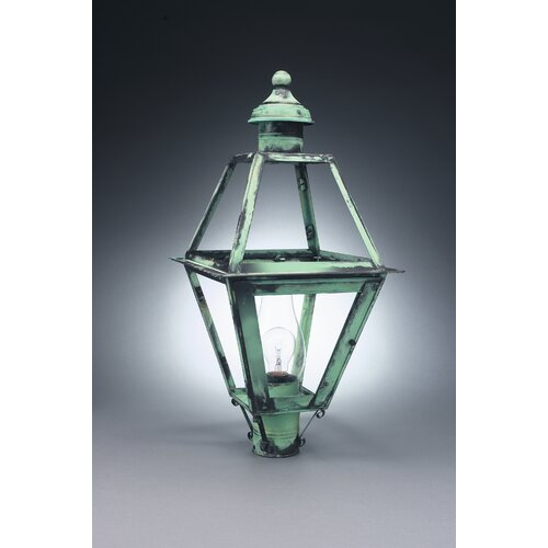Northeast Lantern Boston 3 Light Outdoor Post Lantern