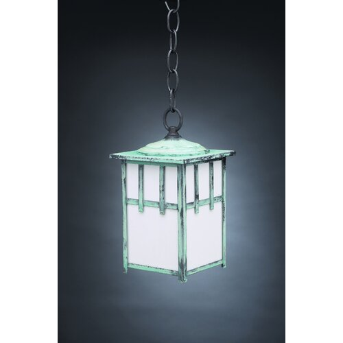 Northeast Lantern Lodge Medium Socket 1 Light Hanging Lantern