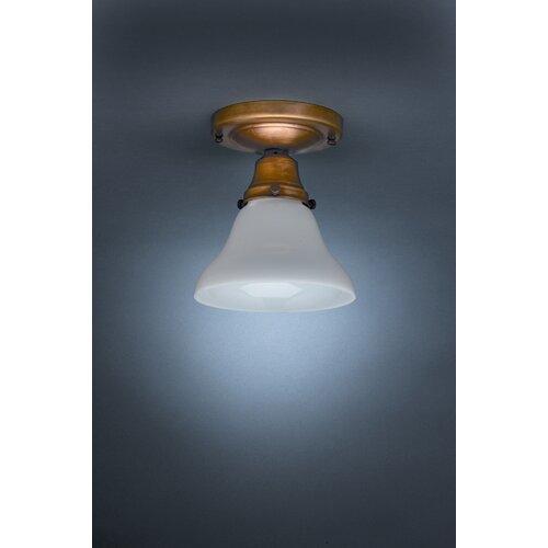 "Northeast Lantern Pendant 6"" 1 Light Semi Flush Mount"
