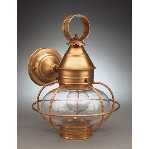 Northeast Lantern Onion Medium Base Socket Cage with No Scroll Wall Lantern