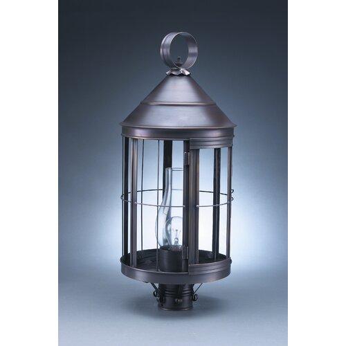 Northeast Lantern Heal 3 Light Post Lantern