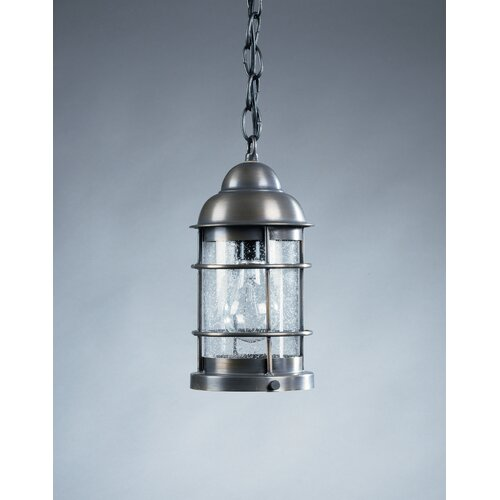 Northeast Lantern Nautical Medium Base Socket 1 Light Hanging Lantern