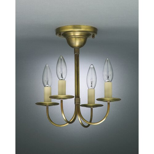 4 Light Candelabra Chandelier