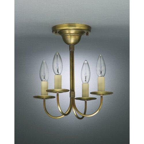 4 Light Candelabra Chandelier