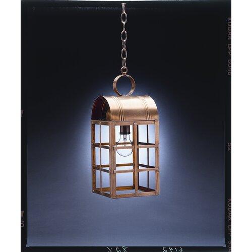 Northeast Lantern Adams Candelabra Sockets Culvert Top H-Bars 1 Light Hanging Lantern
