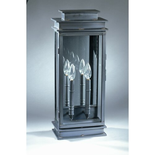 Northeast Lantern Empire 2 Candelabra Sockets Wall Lantern