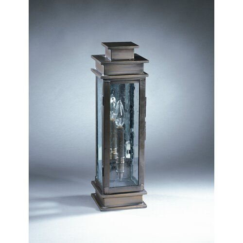 Northeast Lantern Empire 1 Candelabra Socket Plain Mirror Wall Lantern