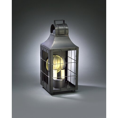 Northeast Lantern Livery 2 Candelabra Socket Culvert Top H-Rod Wall Lantern