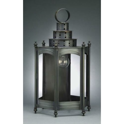 Northeast Lantern Fillmore Medium Base Socket Large Hexagon Wall Lantern