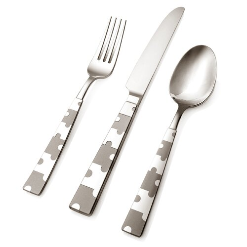 Hampton Signature 45 Piece Puzzle Flatware Set