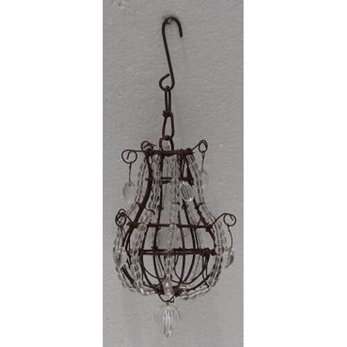Beaded Chandelier Ornament (Set of 2)