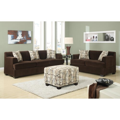 Poundex Benford Sectional