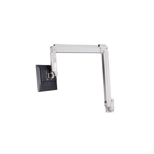 "Premier Mounts Adjustable Height Swingout Extending Arm / Tilt / Swivel Desktop Mount for up to 63"" Flat Panel Screens"