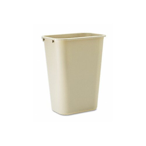 Rubbermaid Commercial Products 10.25-Gal. Deskside Plastic Rectangular Wastebasket