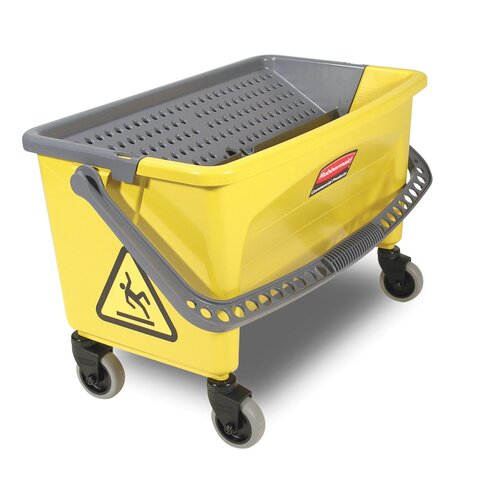 Rubbermaid Commercial Products Press Wring Bucket