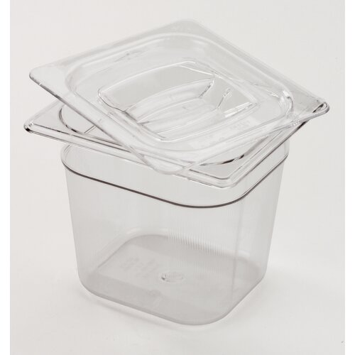 Rubbermaid Commercial Products 6 Space Cold Food Pan