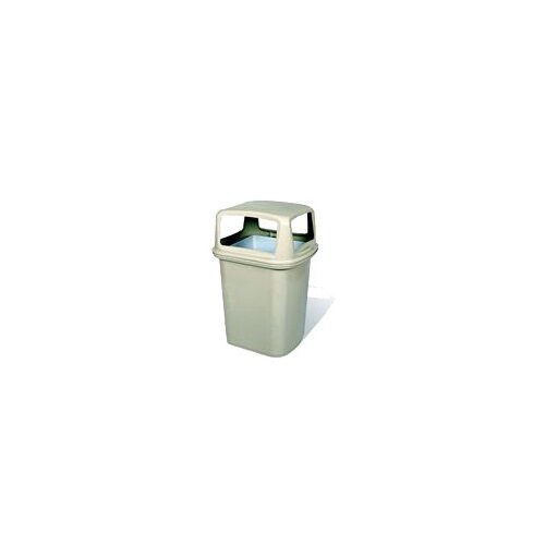 Rubbermaid Commercial Products Ranger Classic Dome Top without Doors - 45 Gallon