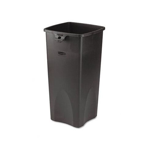 Rubbermaid Commercial Products Untouchable Waste Container, Square, 23 Gal