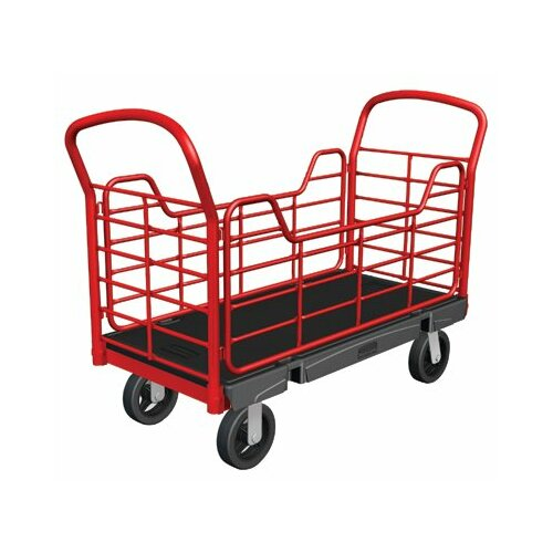 Rubbermaid Commercial Products Side Panel Platform Dolly