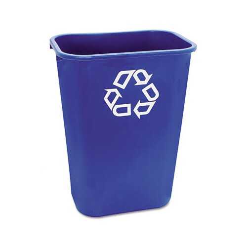 Rubbermaid Commercial Products Large Deskside Rectangular Recycle Container