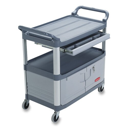 "Rubbermaid Commercial Products 38"" Instrument Cart"