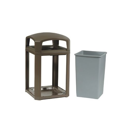 Rubbermaid Commercial Products Landmark Series™ Classic Containers - 45-gal. sable landmark series container d