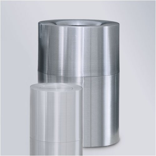 Rubbermaid Commercial Products Aluminum Designer Waste Receptacle