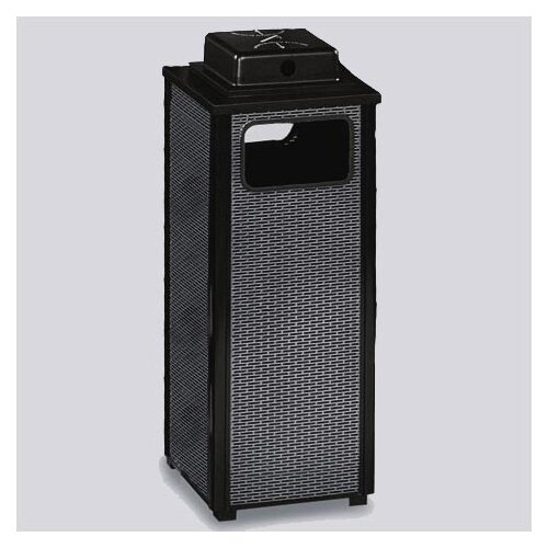 Rubbermaid Commercial Products Dimension 500 Series 12 Gal. Weather Urn Ash/Trash Receptacle